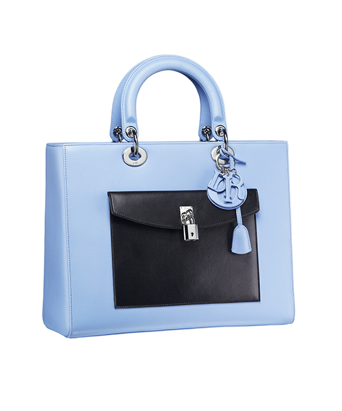 Dior-Fall-Winter-2014-Accessories-Collection-06-diorissimo-blue-leather-bag