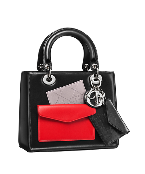Dior-Fall-Winter-2014-Accessories-Collection-07-lady-dior-box-calfskin-pockets-black-red-bag