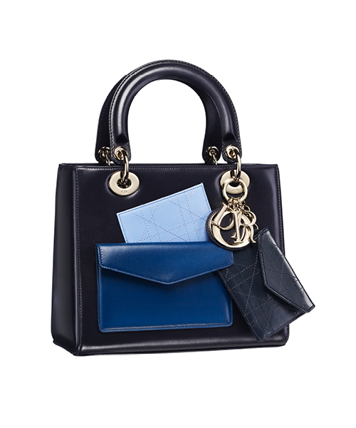 Dior-Fall-Winter-2014-Accessories-Collection-08-lady-dior-box-calfskin-pockets-black-blue-leather-bag