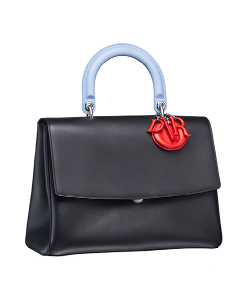 Dior-Fall-Winter-2014-Accessories-Collection-12-black-blue-red-leather-bag