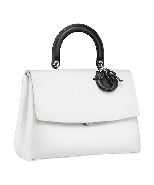 Dior-Fall-Winter-2014-Accessories-Collection-13-white-black-leather-bag
