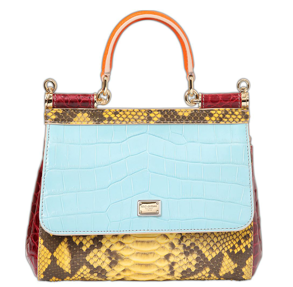 Dolce-Gabbana-Small-Sicily-Patchwork-Exotic-Bag-Blue