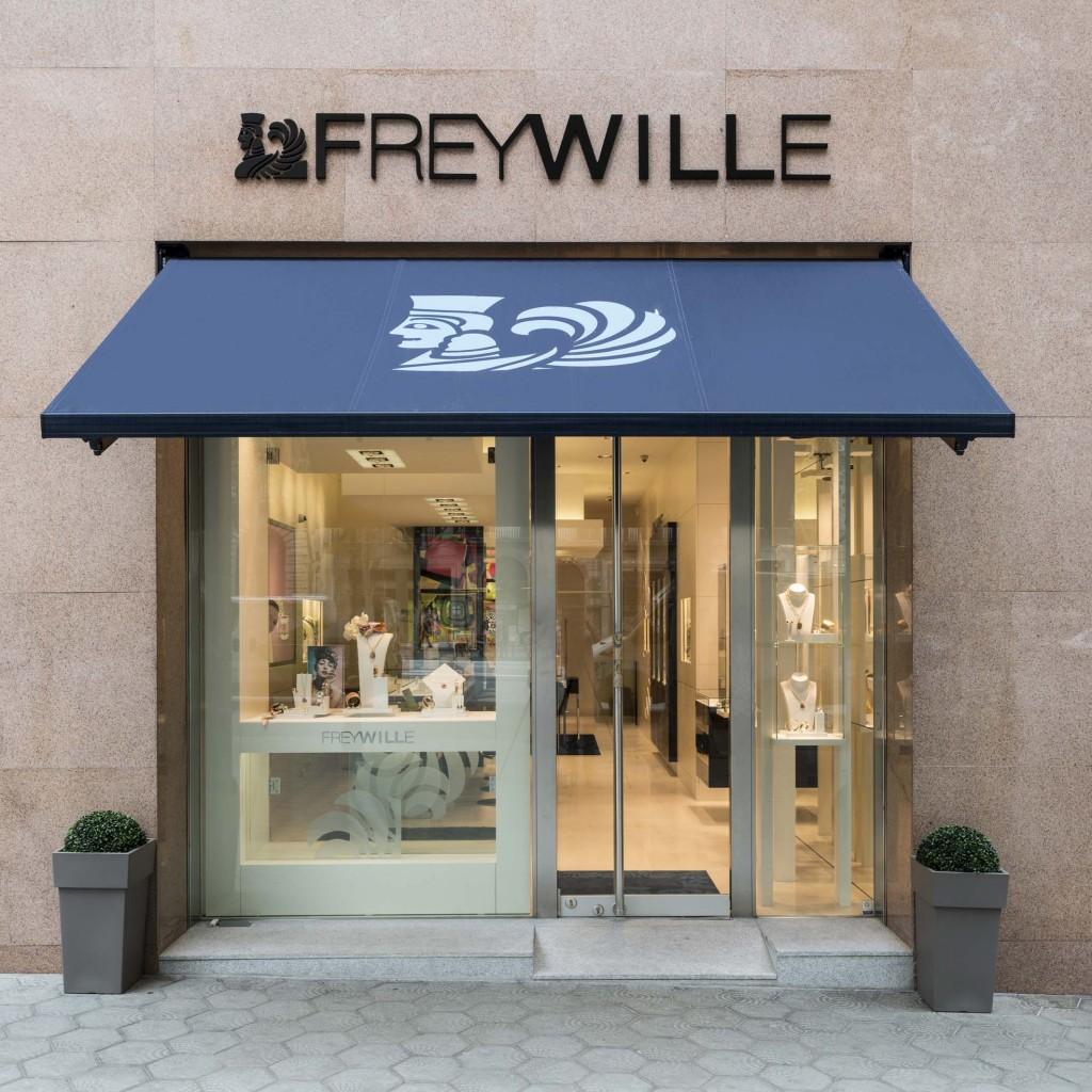 Boutique FREYWILLE BCN_Exterior