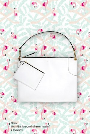 Celine-White-Flat-Tote-Bag-Le-Bon-Marche-Collaboration-300x446