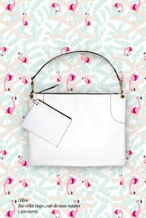 Celine-White-Flat-Tote-Bag-Le-Bon-Marche-Collaboration-300x446