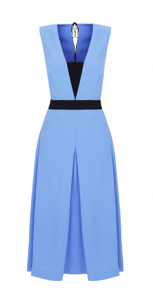 Marks & Spencer BEST OF BRITISH DRESS Blue 188E