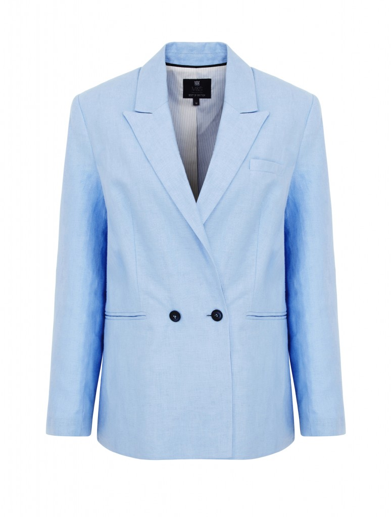 Marks & SpencerBEST OF BRITISH JACKET Blue 188E