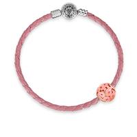 Rose-gold-pink-ribbon-charm-bracelet