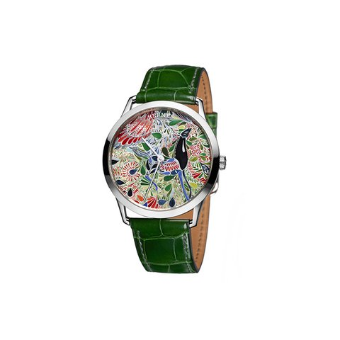 Hermès Slim d'Hermès Mille Fleur du Mexique Claude Joray watch