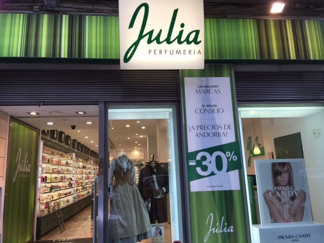 Perfumería Julia, Zaragoza