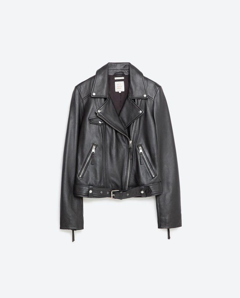Perfecto piel Zara SS 2016