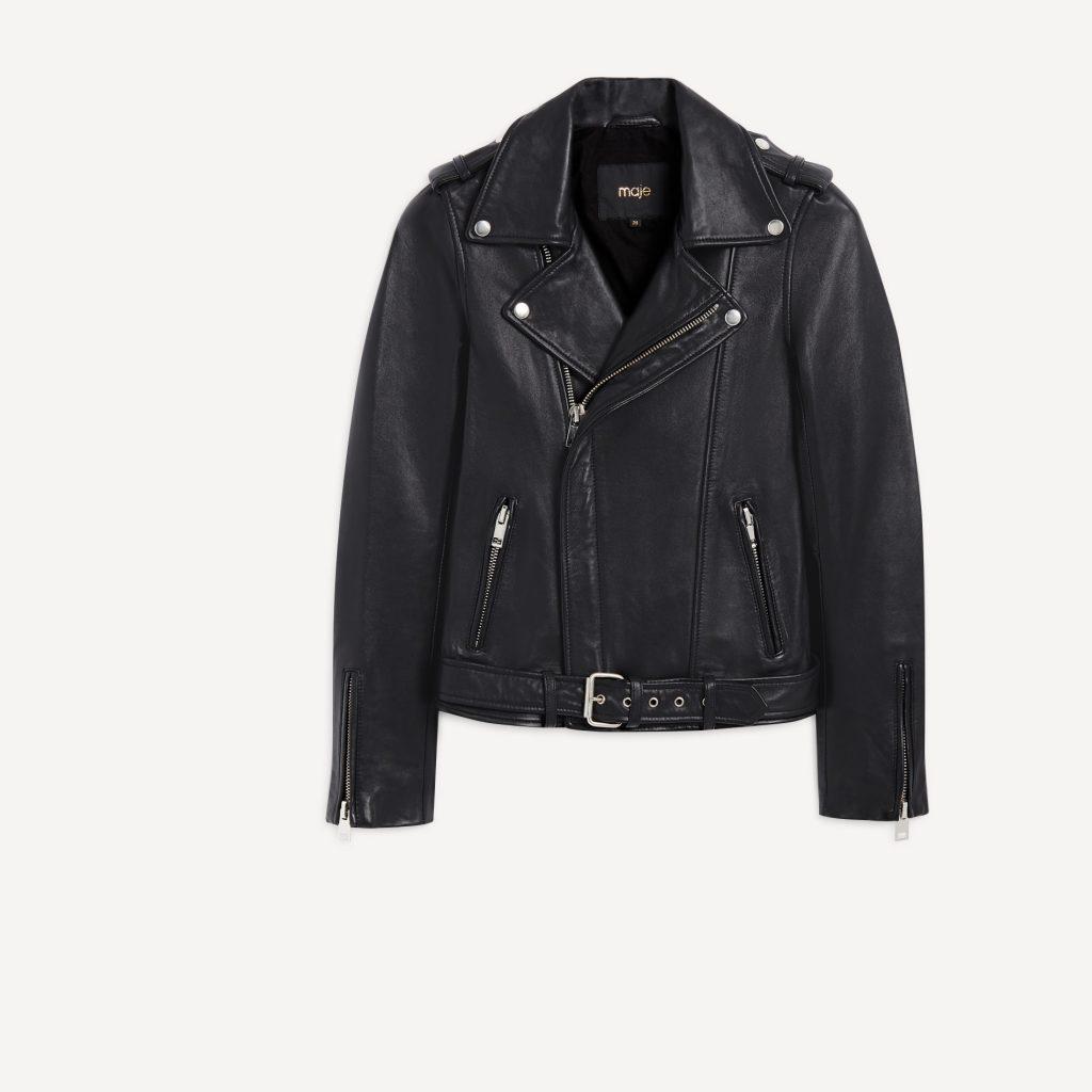 Maje Leather Jacket SS 2016