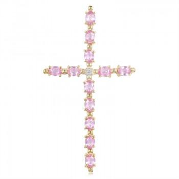 Cruz rosa Juwelo