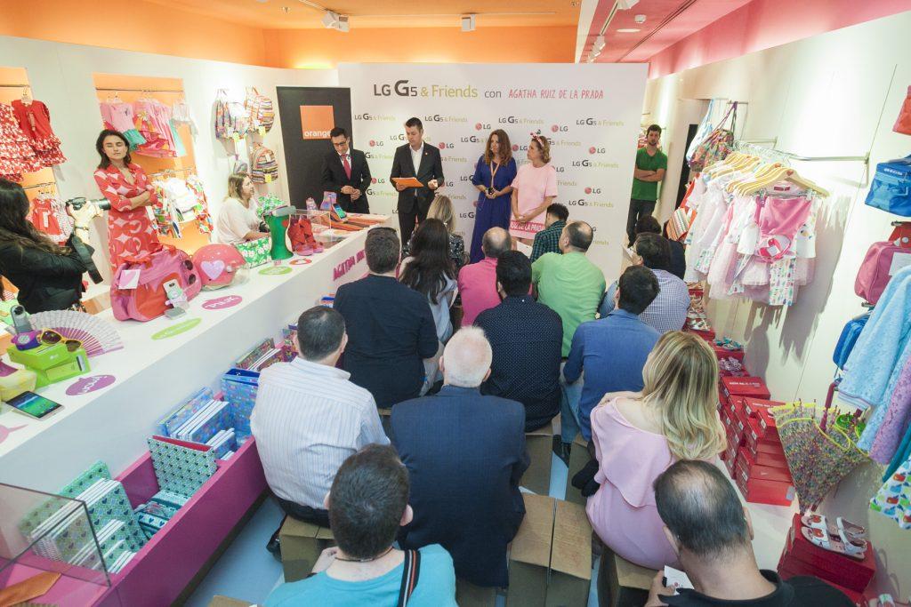 LG G5 & Friends Rosa con Agatha Ruiz de la Prada (5)
