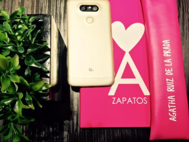 LG presenta LG G5 & Friends en rosa de la mano de Agatha Ruiz de la Prada, y en exclusiva con Orange