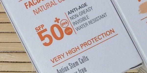 Heliokos Crema Solar Facial Anti Age FP 50+ con color, KOSEI